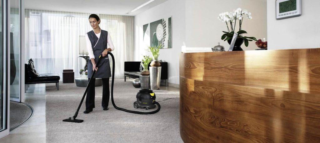 Процесс обслуживания гостиницы клининговой компанией