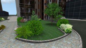 Озеленение и благоустройство территории в Краснодаре